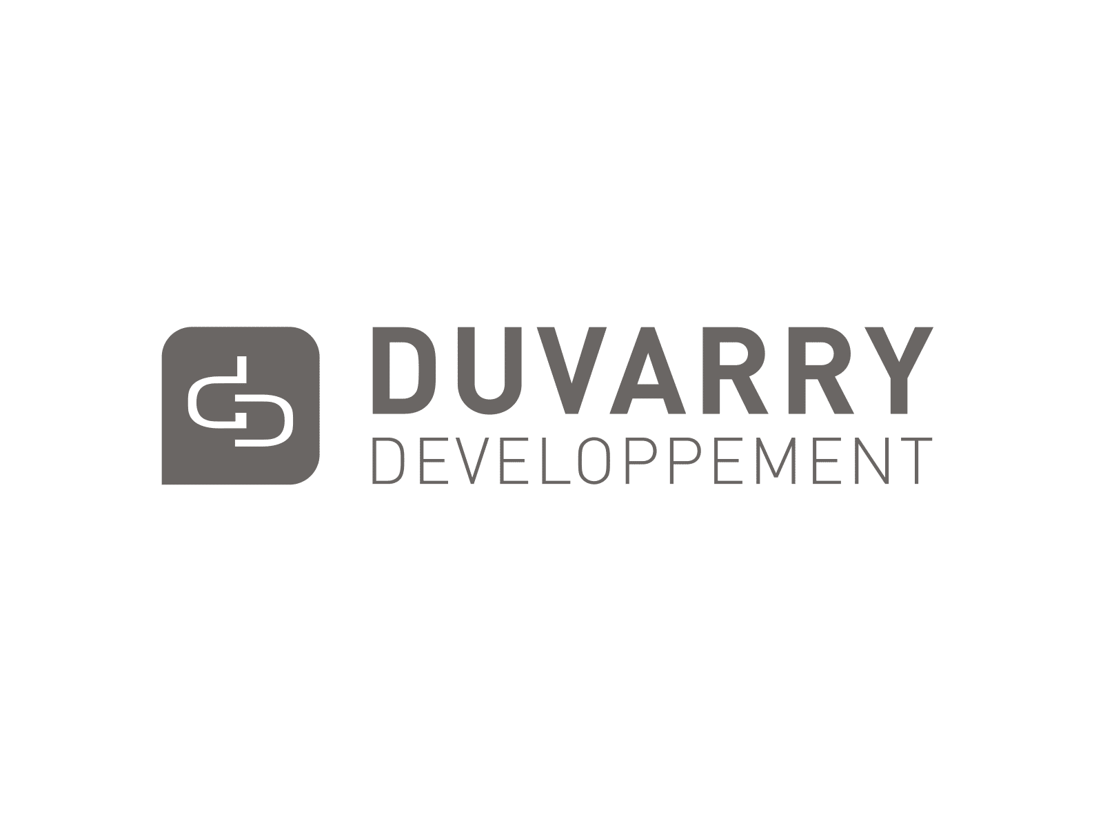 Logo DUVARRY DEVELOPPEMENT Holding Lyon - Client de STARFACTORY Communication