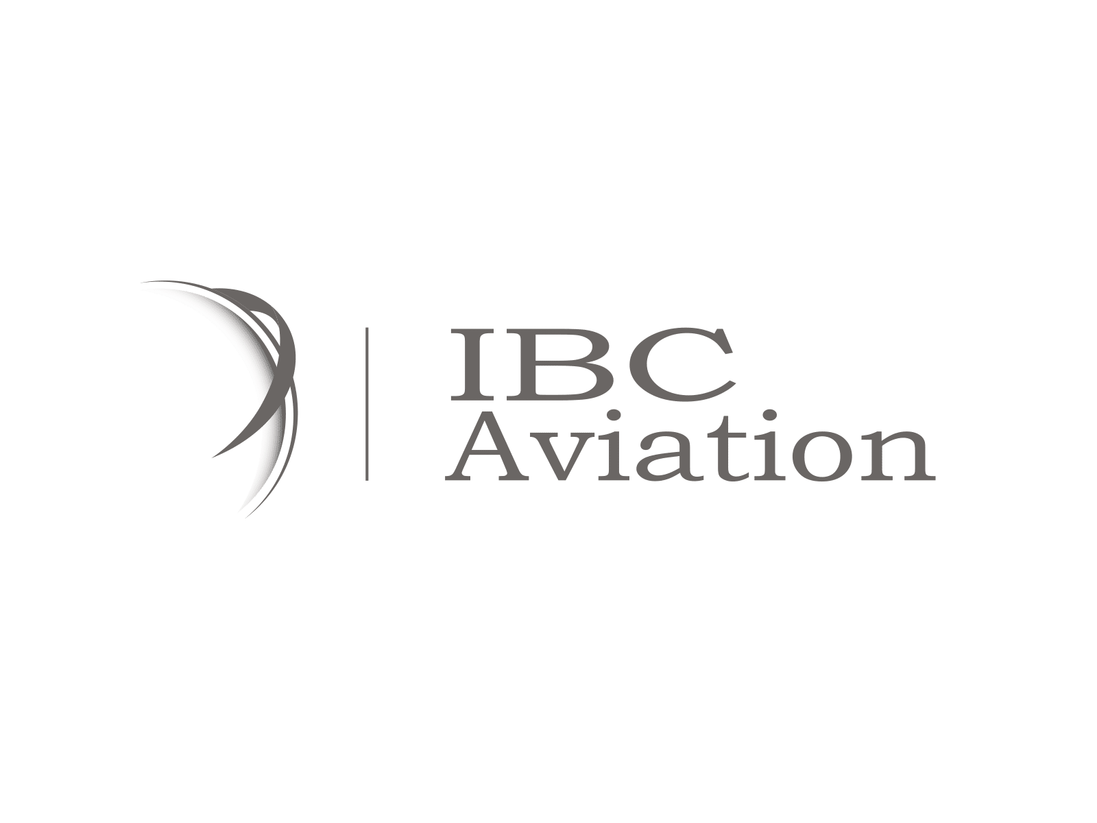 Logo IBC AVIATION Aviation d'affaire Genève-Paris - Client de STARFACTORY Communication