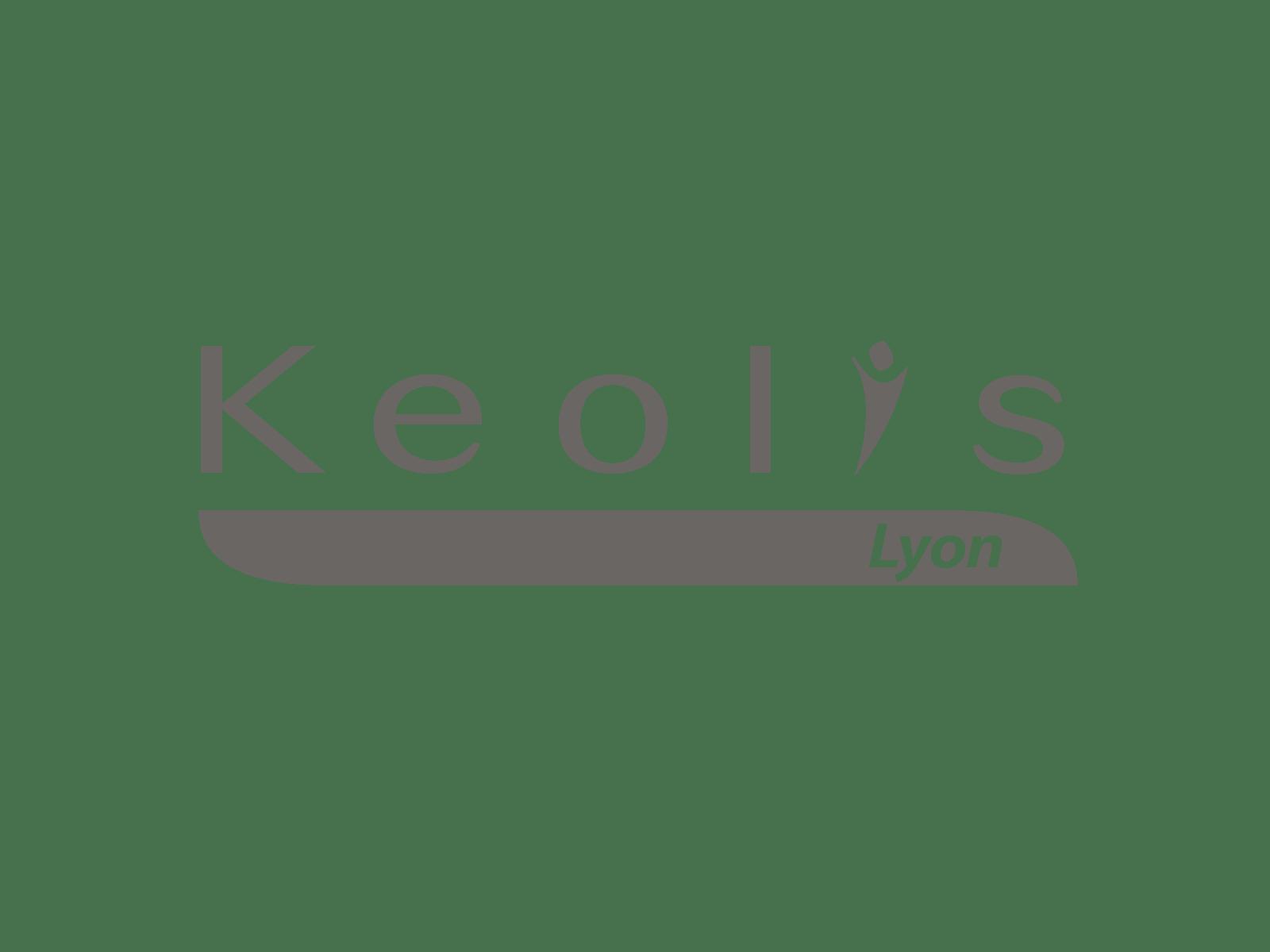Logo KEOLIS Lyon Exploitant du réseau TCL - Client de STARFACTORY Communication