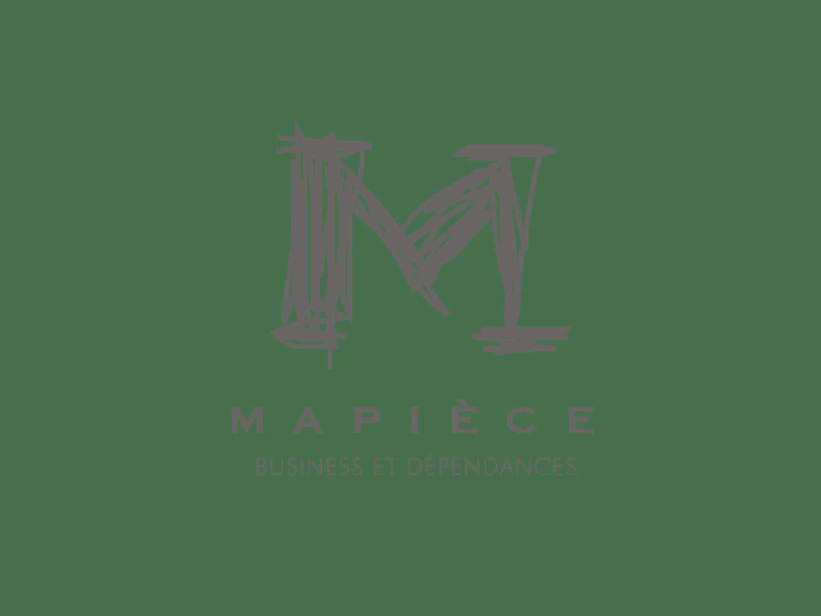 Logo MAPIECE Chambres d'hotes pour Entreprises a Lyon - Client de STARFACTORY Communication